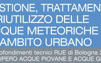 Gestione Trattamento e Riutilizzo delle Acque Meteoriche Urbane